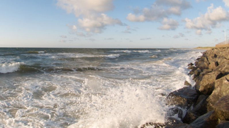 Crashing Waves on brancaster beach