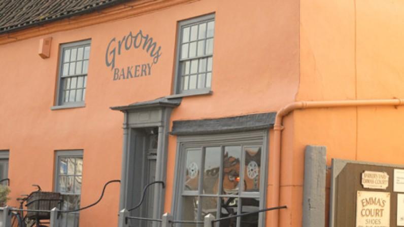 Grooms bakers Burnham market