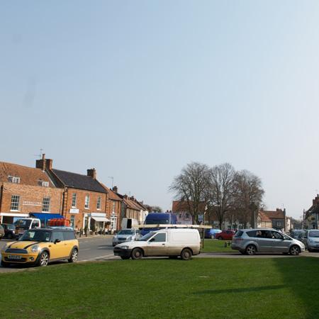 Burnham market green