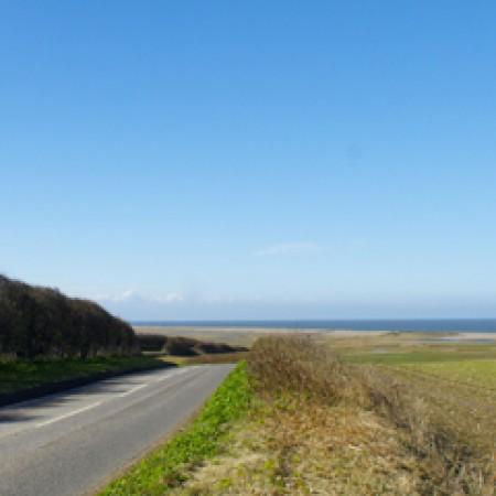 Kelling Views towards the sea