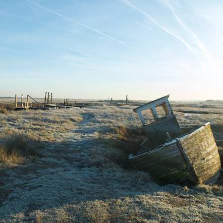 Frosty Morning at Thornham Habrour