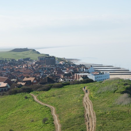 View from beston Bump sheringham