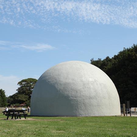 Langham Dome external