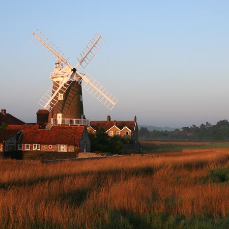 Cley Windmill at dawn