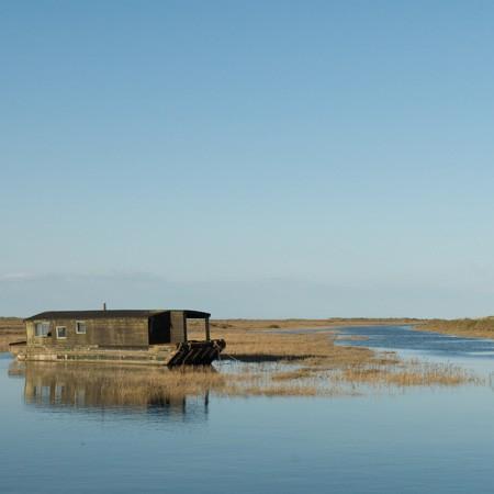harry house boat n burnham deepdale marsh