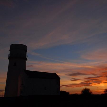 Hunstanton Lighthouse Sunset