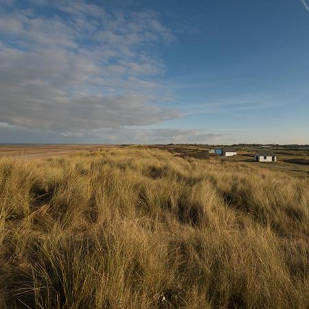 Beach Huts and Dunes Old Hunstanton